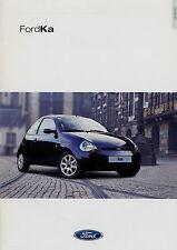 Prospekt Ford Ka 9 00 2000 Autoprospekt Auto PKWs brochure car broschyr brosjyre