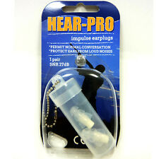 HEAR-PRO® HEARING PROTECTORS Re-usable Impulse Earplugs - WATER SPORTS, SWIMMING