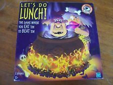 Let's Do Lunch - The Game Where You Eat 'Em to Beat 'Em 2000 Complete