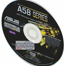 ASUS A58 SERIES MOTHERBOARD DRIVERS M4724 WIN 10 DUAL LAYER DISK