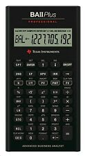 Texas Instruments BAII + Profesional Calculadora Financiera