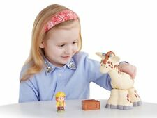 FISHER PRICE LITTLE PEOPLE GIRAFFE W/ SOUNDS & MOVEABLE CMP30  *NU*