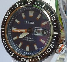 SEIKO SUPERIOR BRAND NEW MENS AUTOMATIC 200m DIVERS WATCH SRP493J1 MADE IN JAPAN
