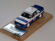 MARC DUEZ BMW M3 CIRCUIT OF IRELAND 1987 1:43 scale code 3 Rare