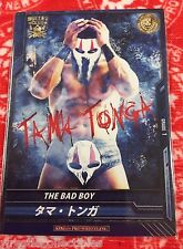 "New Japan Pro-Wrestling ""The Bad Boy"" Trading Card Tama Tonga NJPW Bullet"