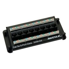 Suttle SAM-D8 8 Port CAT5e Patch Module