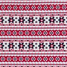 Lillestoff en la cocina con flores de jersey de algodón orgánico 95% 5% spandex Por Metro