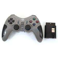 2in1 USB+PS2 Wireless GamePad Controller Joypad Joystick for laptop PC Gray