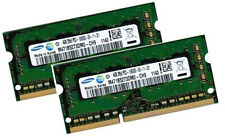 2x 4GB 8GB DDR3 1333 RAM Panasonic Toughbook H2 Mk1 CF-H2 SAMSUNG PC3-10600S