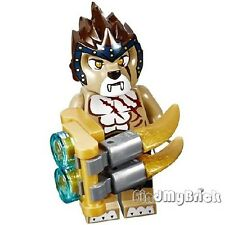 CM111 Lego Legends of Chima Lion Tribe - Longtooth Minifigure & Weapon 70010 NEW