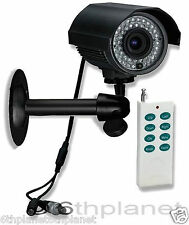 CCTV CCD Camera Built-in Recording DVR 46 LED IR, SONY Sentient N95GW Remote Ctl