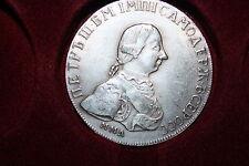Russia 1 rubli 1762 Peter III.,