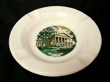 Virginia Souvenir Ashtray Salem China Co VA State Capitol Travel Vintage Collect
