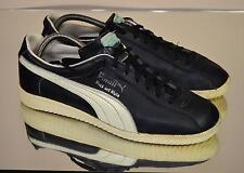 Puma Black and White Vintage 80er Sneaker Turnsch- Gr: EU 41/UK 7  (239)