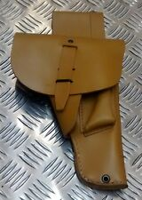 Genuine French Foreign Legion, Brown Leather 9mm MAB P-1908 Gun / Pistol Holster
