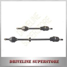 A pair of FRONT CV JOINT DRIVE SHAFTS for HYUNDAI TUCSON MANUAL 2.0L 4CYL 2005-