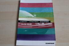 145368) Chrysler Vision LeBaron - Farben & Polster - Prospekt 09/1993