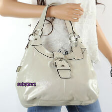 NEW Coach Soho Lynn Hobo Leather Shoulder Bag Handbag F17219 Light Beige RARE