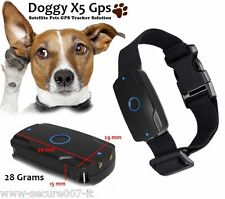Collare Gps per Cani DOGGY X5 Unlimited Nessun Abbonamento Sim Card Dati inclusa