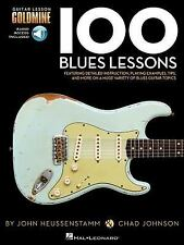 100 Blues Lessons : Guitar Lesson Goldmine Series by John Heussenstamm and...