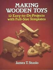 Making Wooden Toys Book~12 Easy-to-Do Projects with Templates