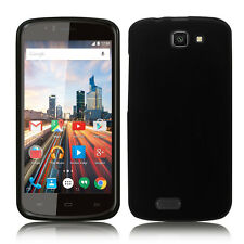 Accessorie Silicone Cover Flexible Gel black for Archos 50e Helium 4G