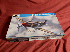 "1/32 Revell P 51B Mustang Ace Maj Beeson WW II Fighter # 4773 ""1993"" OB F/S Bag"