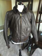 G-1 Barely Worn Excelled DSCP Leather Flight Jacket USMC Marines USN Sz 48 XL