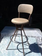 Bar stool Chair Vintage Swivel Seat Stool Cosco Brand Beautiful Vintage