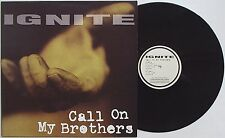 Ignite -Call On My Brothers LP 1995 CONVERSION PRESS Unity Uniform Choice Insted