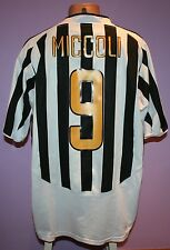 MICCOLI # 9 JUVENTUS 2003/2004 NIKE HOME SHIRT SIZE XL