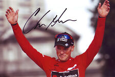 Christopher Horner Autographed Signed 8X12 inches 2013 La Vuelta Champion Photo