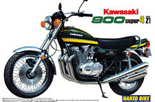 Aoshima 1/12 SCALA KAWASAKI 900 SUPER FOUR PLASTIC MODEL KIT * rifornito! *