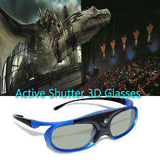 3D Active Shutter Glasses HD Universal Rechargeable for DLP-Link Projector