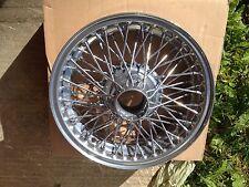 Tudor roues ltd classique chrome roue mg RESTAURATION ROADSTER MGB Mgbgt MGA