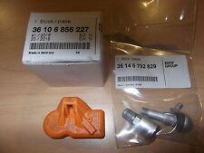 BMW TPMS Tire Monitor Sensor And Valve Stem 2010-2013 Genuine OEM