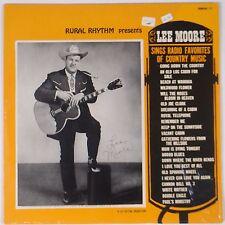 LEE MOORE: Sings Radio Favorites RURAL Country VINYL LP NM-