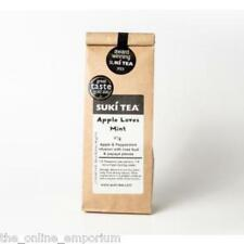 2 x 80g SUKI APPLE LOVES MINT LOOSE LEAF TEA - APPLE & PEPPERMINT -AWARD WINNING