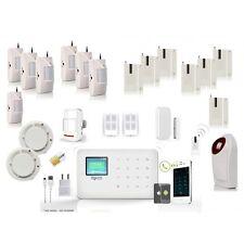 Kit alarme sans fil SIM Sécurité Maison + App Iphone Android + Détecteurs
