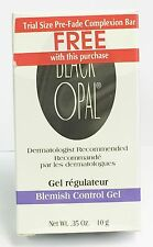 Black Opal Blemish Control Gel 0.35 oz . With Trial Size Pre-Fade Complexion Bar