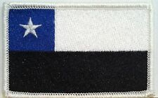 CHILE Flag Patch With VELCRO® Brand Fastener Military Police Emblem #3