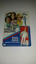 VINTAGE 1981 MEGO DUKES OF HAZZARD ACTION FIGURE BOSS HOGG MOC WARNER Bros
