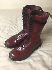 Dr. Martens 1940 The Original 14 Eyelet Boot Cherry Red - Size 7 RRP £125