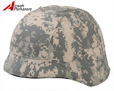 Tactical Military Outdoor Helmet Cover ACU Camo for M88 PASGT Kelver Swat Helmet
