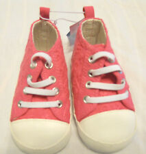 Old Navy Girls Crib Shoes Sz 5 (18-24M) Infant Soft Sole Pink