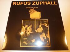RUFUS ZUPHALL - Weiß der Teufel ***Vinyl-LP***NEW***sealed***