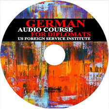 German Language Audio Course for Diplomats Foreign Service Institute (FSI) / DVD
