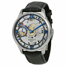 Tissot Chemin Des Tourelles Squelette Skeleton Dial Mens Watch T0994051641800