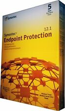 Symantec Endpoint Protection 12.1 Business Pack 5-User Windows & Mac Retail!!