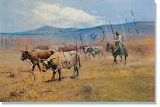 """*** """"RAWHIDE AND DUST"""" LIMITED EDITION PRINT BY ROBERT PUMMILL***"""